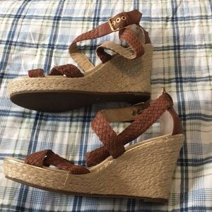 Sperry Leather Wedges Size 9